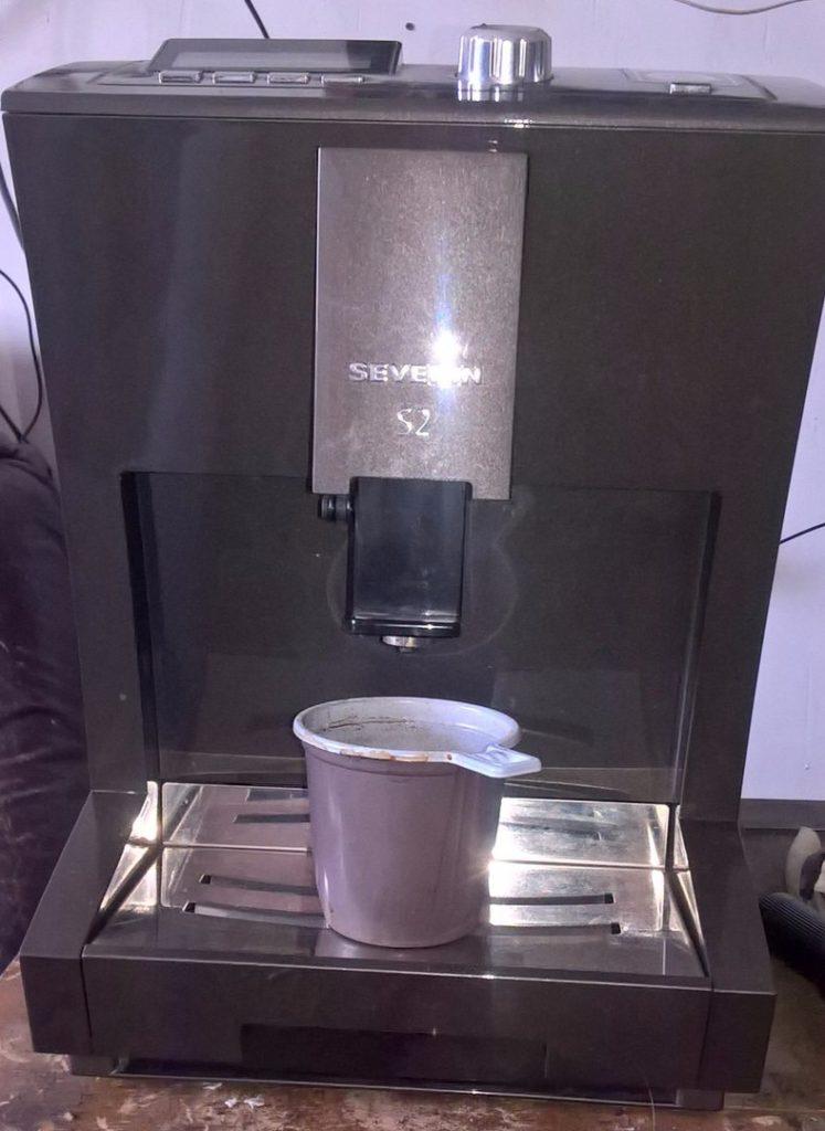 Ремонт кофемашины Severin S2