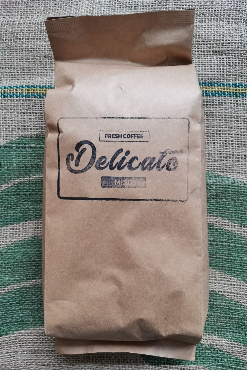 Кофе Delicato Mild в зернах 1000 г