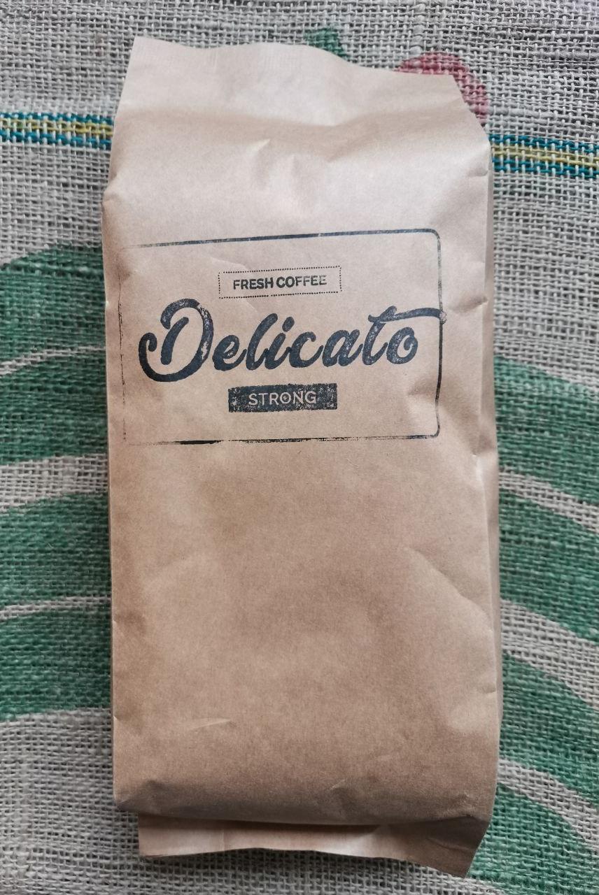 Кофе Delicato Strong в зернах 1000 г